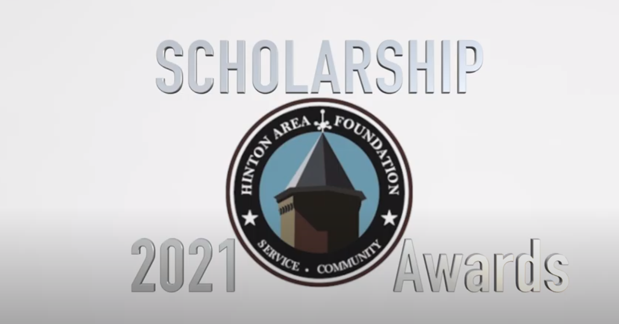 2021 Hinton Area Foundation Scholarship Presentation